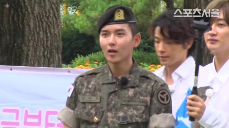 슈퍼주니어(Super Junior) 려욱(Ryeo Wook) 전역 늠름한 남자로 컴백