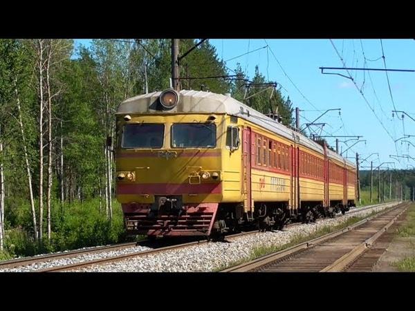 Электропоезд ЭР2К-1107 Путеец-08 сообщением Нижний Тагил - Серов