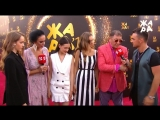 Григорий Лепс и COSMOS girls на красной дорожке фестиваля Жара (26.07.18)
