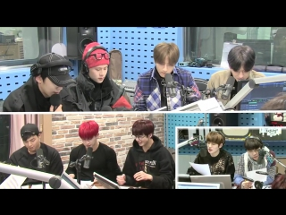 [RAW|VK][07.12.17] MONSTA X @ SBS PowerFM NCT's night night!
