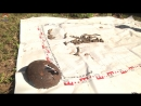 Поисковики отряда Ягуар обнаружили останки трёх Защитников Отечества недалеко от д.Нурма