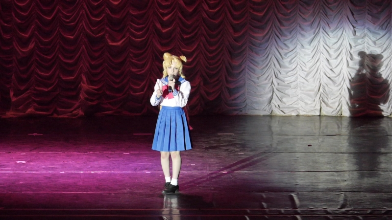 1.1.12. КАРАОКЕ-НОВИЧКИ № 1 - Vincent (Москва) DALI - Moonlight Densetsu (Bishoujo Senshi Sailor Moon opening)