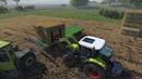 Cattle and Crops Погрузка тюков сена