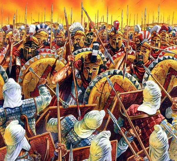 the battle of plataea While the battle of plataea was being fought, the greek fleet was lying at delos, an island in the ægean sea the persian fleet was near samos, which is not far from the coast.