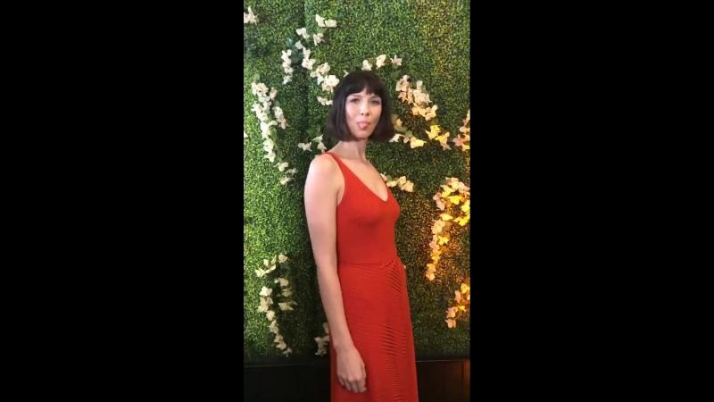 Катрина Балф на красной дорожке на встрече с академией ЭММИ