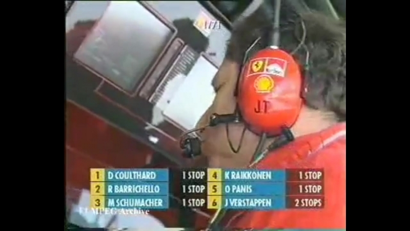 Барикелло просят пропустить Шумахер Austria 2002 Schumacher Barrichello
