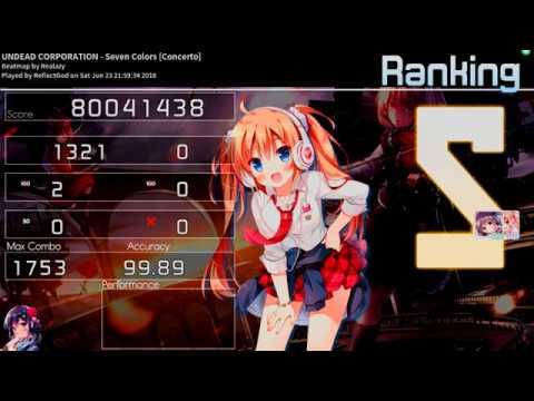 ★9.29 Undead Corporation - Seven Colors DT 2x100 FC [Concerto]