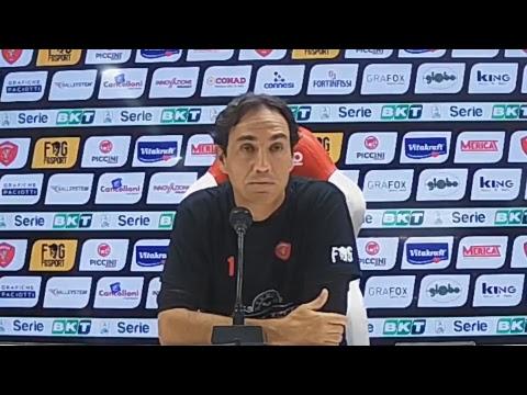 Perugia-Padova: diretta conferenza pre-partita di Mister Nesta