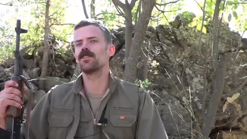 Zagroslarda Norveçli bir Gerilla - - Türk devletinin Kürt halkına karşı işlediği suçlara karşı mücadele etmek için PKK saflarına