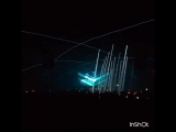 Spectacular lighting... WOW!!!! Carl Cox playing track