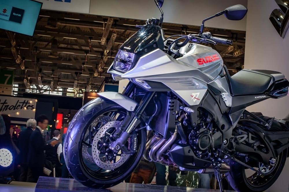 Фотографии мотоцикла Suzuki Katana 2019. Часть 2