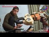 15-летний изобретатель Алибулат из Сулевкента мастерит роботов из подручных средств.