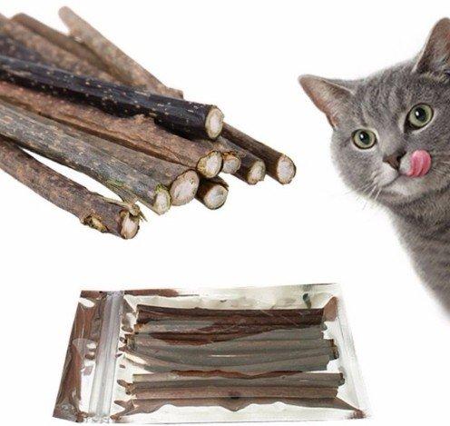 Палочки с кошачьей мятой для кота за 191