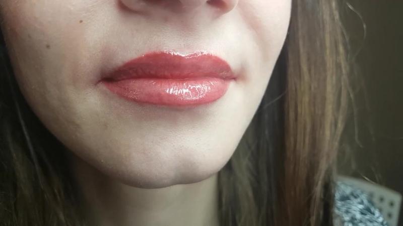 Перманентный макияж губ. Ира