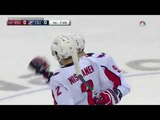 Dmitri Orlov's first playoff goal vs Blue Jackets (2018)