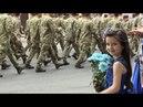 Сотні житомирян зустрічали Героїв 95 ї ОДШБ які пройшли з оркестром вулицями міста Житомир info