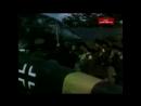 ВЫСТАВКА ТРОФЕЙНОГО НЕМЕЦКОГО ОРУЖИЯ 1943г Москва цветная кинохроника