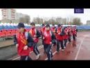 Старт легкоатлетического пробега, посвященного 73-й годовщине Великой Победы