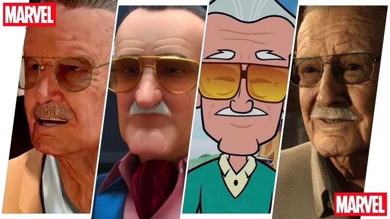 Stan Lee Evolution in Cartoons Games (R.I.P. 1922-2018)