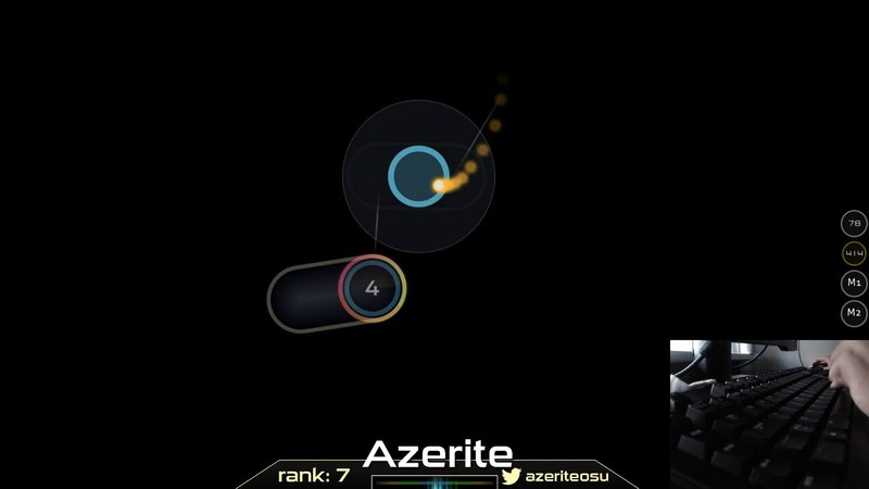 Osu! | Azerite | Natsume Chiaki - Hanairo Biyori [Awaken Challenge] HD,DT 90.37% 9.19* | Livestream