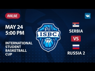 Serbia vs russia 2. isbc 3d place game