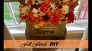🍁 Dollar Store Fall Floral DIY 🍁