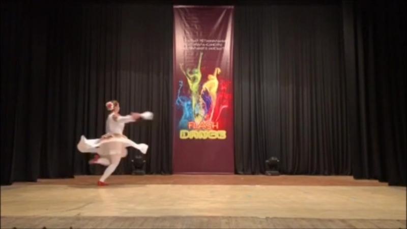 Ярополова Ксения хореографический коллектив Ювента Молодычка