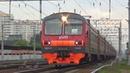 Электропоезд ЭД4М 0343 с рейсом Москва Курская Крутое по 3 пути