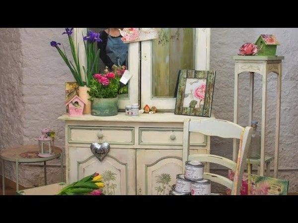 Цветочный уголок от Mariadele Colombo