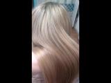 полировка волос, без фильтров