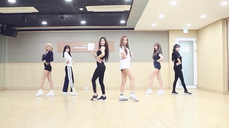 [mirrored] AOA - BINGLE BANGLE Dance Practice
