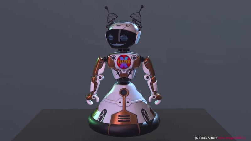 Robot X tester bot_1 demo