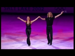 Marina anissina gwendal peizerat olympics skating gala suzanna (simons re-worked mix) (2002)