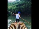Сплав на плотах по реке в джунглях🎋🌴