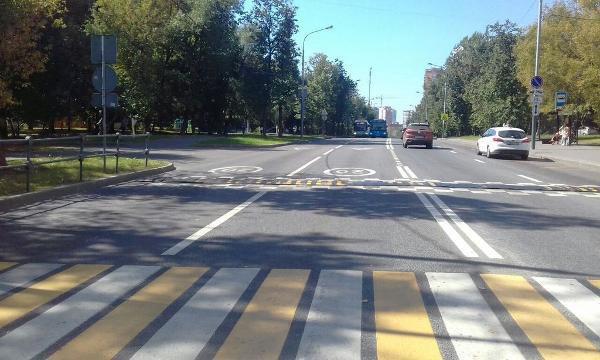 «Лежачий полицейский» отремонтировали на Фестивальной улице