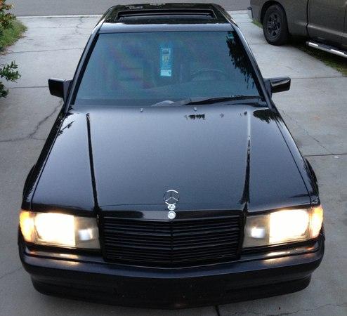 1987 Mercedes 190E RENNTECH STRAIGHT PIPES NO CATS RESONATOR AMG BRABUS LORINSER E30 M3 E28 M5