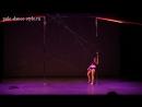 4 турнир студии Pole Dance Style. Pole Art - продвинутые. Саввушкина Кристина.