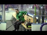 Видео с утренней раскатки «Ак Барса» перед матчем со СКА