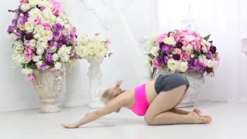 SLs contortionist flexibility gymnastic stretch. contortion, yoga - гибкие гимнастки