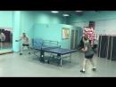 Настольный теннис для пенсионеров в Ростках