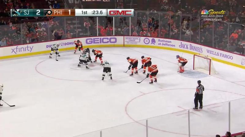 San Jose Sharks at Philadelphia Flyers TUE Nov 28 2017