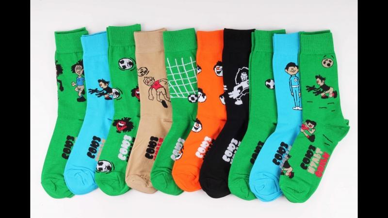St.Friday Socks x Союзмультфильм - «Футбольные звезды»