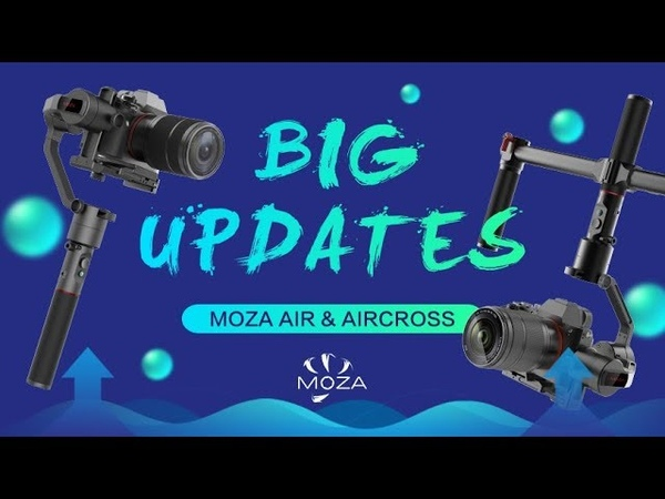 MOZA Air AirCross Updates-Inception Mode and Sport Gear Mode