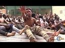 Salto masivo de migrantes a la valla fronteriza de Ceuta