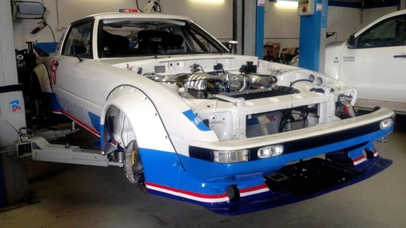 Mazda Gen 1 RX7 Rally Car Group C Build Project