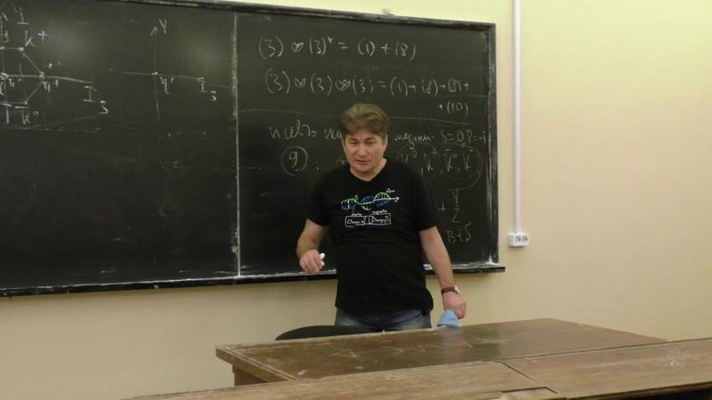 Парфёнов К. В. - Введение в физику элементарных частиц - Симметрии адронов (Лекция 4)