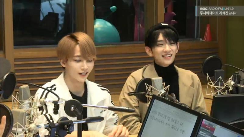 180208 Запись на радио MBC FM4U Ji Seokjin 2PM Date Radio
