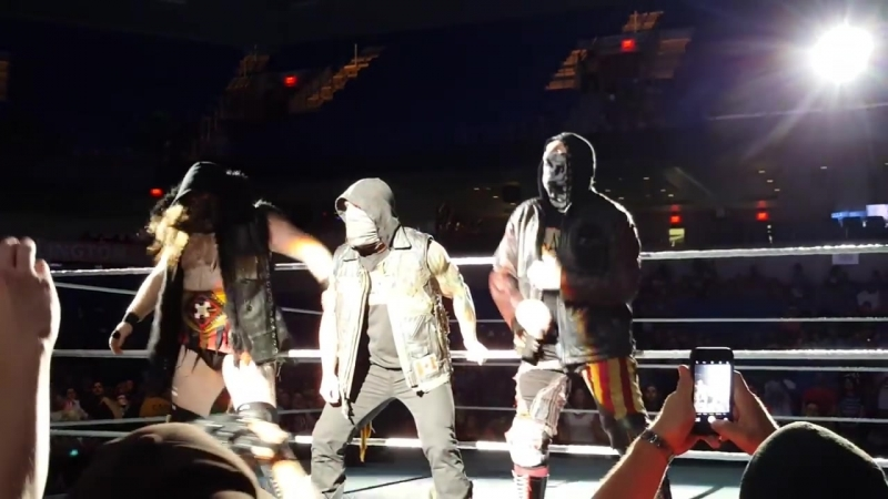 SAnitY провели второй матч на хаус-шоу SmackDown