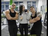 тренировка мышц спины и рук