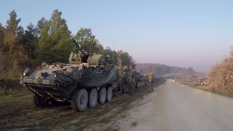 Exercise Dragoon Ready GRAFENWOEHR, BY, GERMANY 17.10.2018